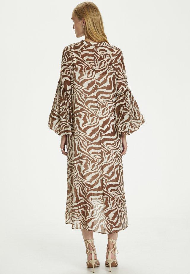GAMEN - Korte jurk - safari zebra