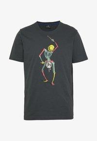 PS Paul Smith - DRUM SKELETON - Print T-shirt - dark grey - 4