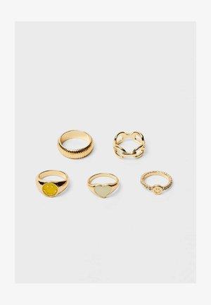 5ER-SET  - Anello - yellow