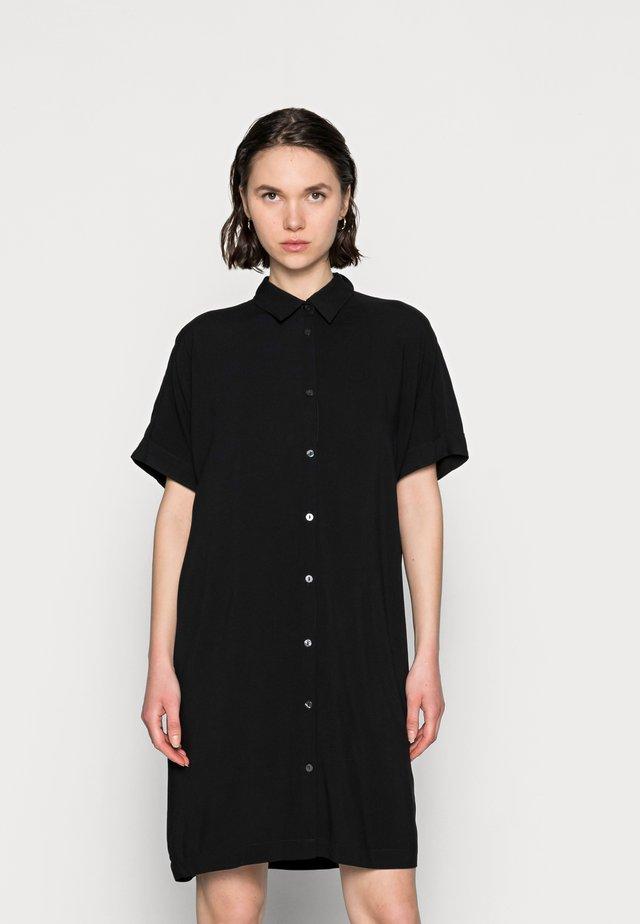 DRESS LINA - Košilové šaty - black