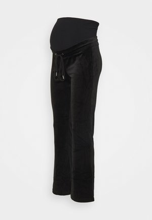 MOM ROSE  - Tracksuit bottoms - black
