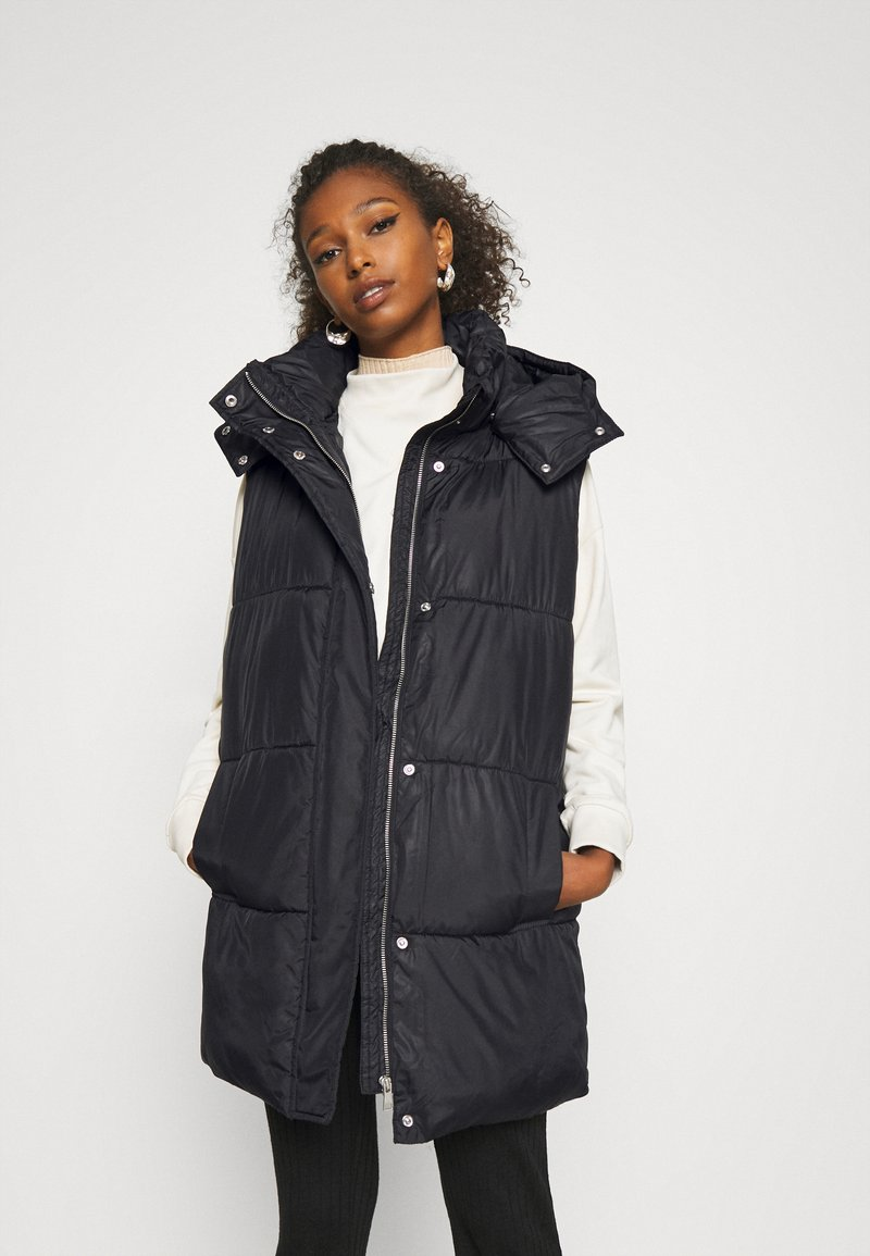 ONLY - ONLDEMY PADDED VEST - Waistcoat - black