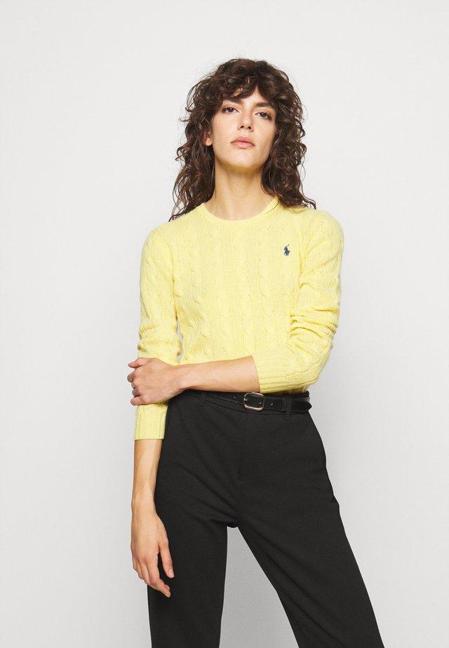 JULIANNA  - Svetr - fall yellow