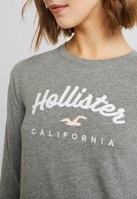 Hollister Co. - CLASSIC TIMELESS TECH  - Topper langermet - grey - 5