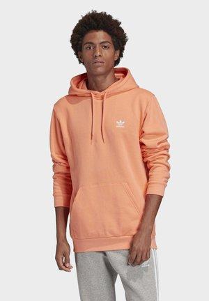 TREFOIL ESSENTIALS HOODIE - Sweat à capuche - orange
