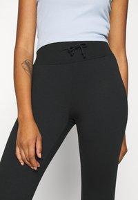 Even&Odd - High Waist Lightweight Slim Jogger - Tracksuit bottoms - black - 7