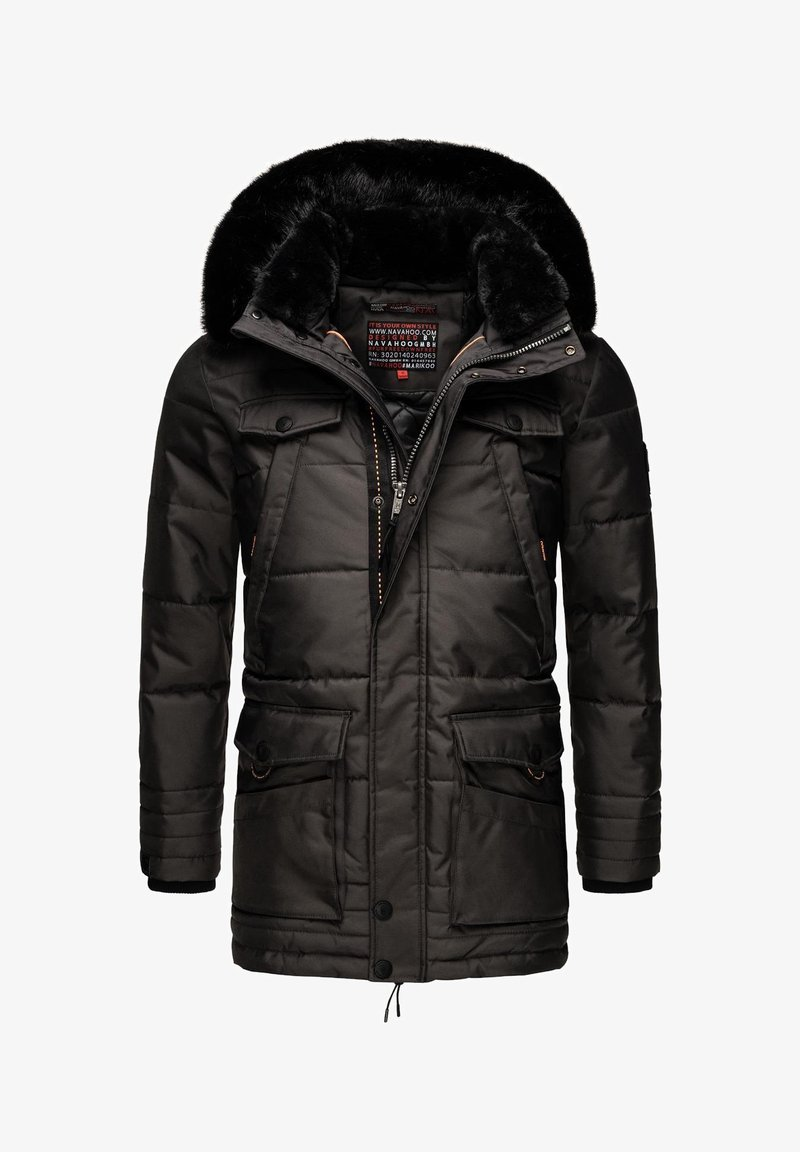 Navahoo - LUAAN - Winter coat - dark grey