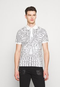 Just Cavalli - ANIMAL PRINT - Polo shirt - white - 0