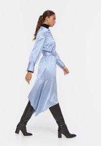 Uterqüe - Shirt dress - blue - 3