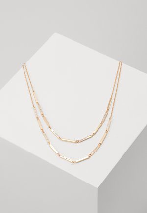 BAGUETTES - Necklace - rose gold-coloured