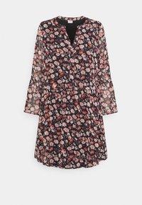 JDY - JDYKYLIE SHORT DRESS - Denní šaty - black/pastel rose - 0