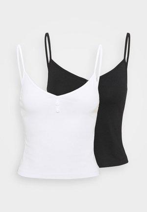 2 PACK - Topper - black/white