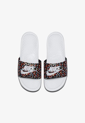 BENASSI JDI PRINT - Sandaler - white/black/magic ember/white