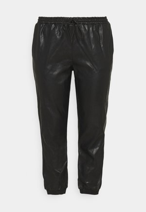 CUFFED JOGGER - Trousers - black