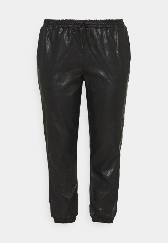 CUFFED JOGGER - Pantalones - black
