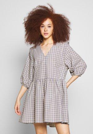 DRESS - Kjole - rayes check