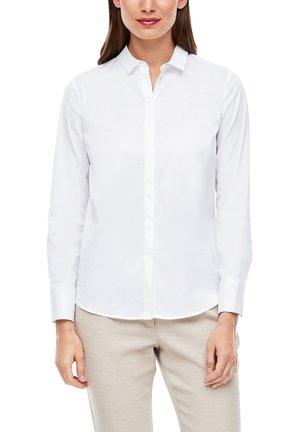 ELASTISCHE - Button-down blouse - white