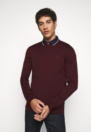 Pullover - rich ruby heather