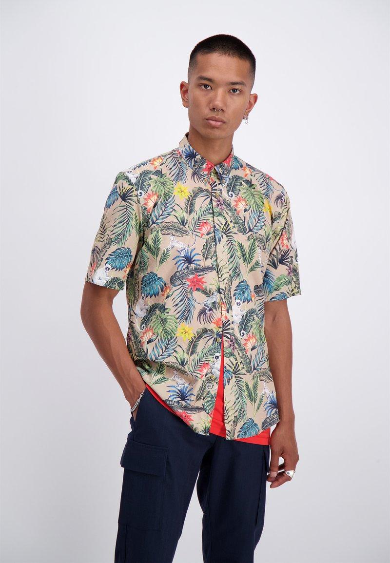 Junk De Luxe - Overhemd - light khaki