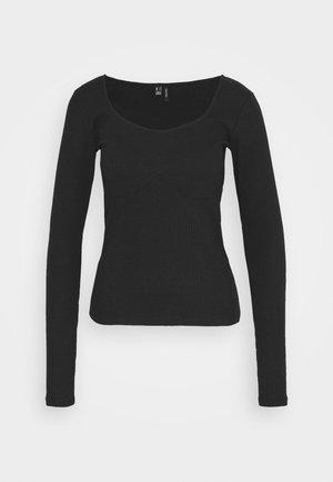 VMNEWAVA DETAIL - Long sleeved top - black