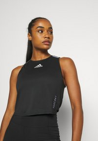 adidas Performance - HEAT.RDY TANK - Treningsskjorter - black - 3