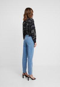 Selected Femme - SLFLOU DAWN - Slim fit jeans - dark blue denim - 2