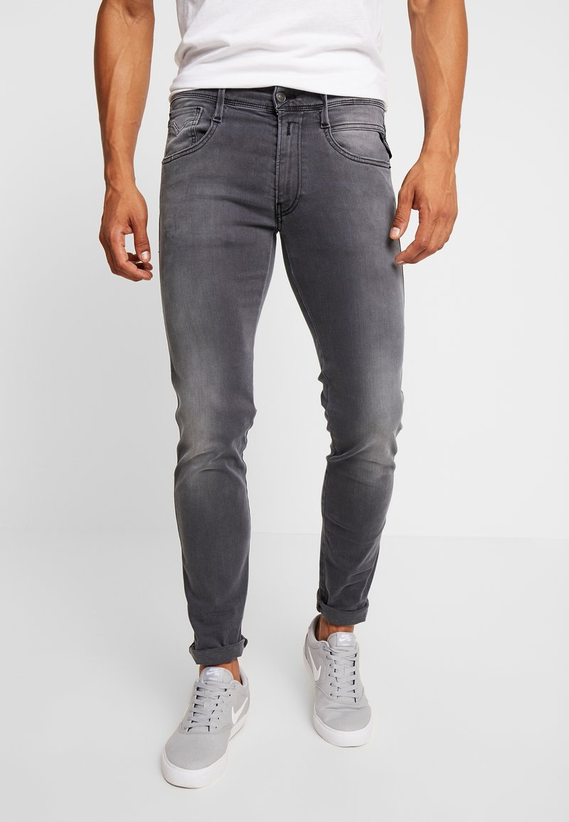 Replay - ANBASS HYPERFLEX - Slim fit jeans - light grey