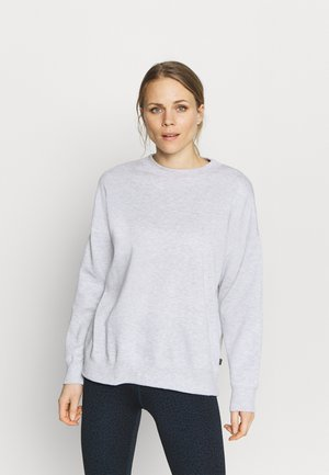 LONG SLEEVE CREW - Sweater - grey marle