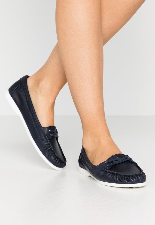 BIADANYA LOAFER - Slippers - navy blue