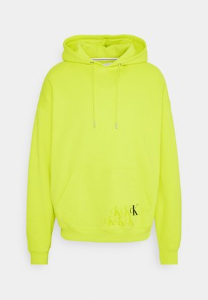 BACK MONOGRAM GRAPHIC UNISEX - Sweatshirt - lime zing