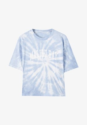 Printtipaita - light blue