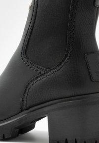 Panama Jack - PIA - Kotníkové boty na platformě - black - 2