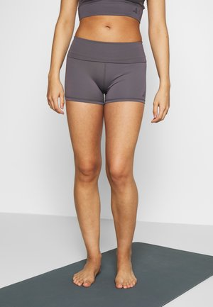 ROLL DOWN SHORTS - Tights - greyberry