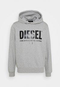 Diesel - HOOD DIVISION LOGO - Hoodie - grey - 0