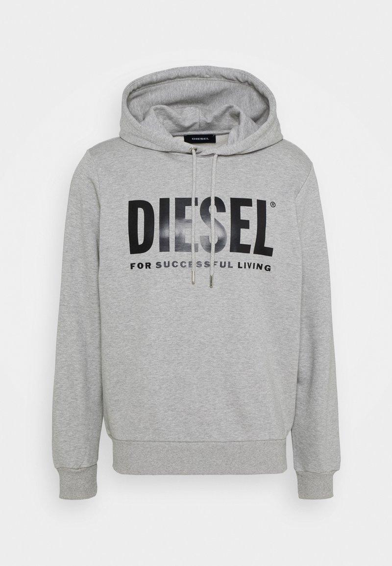 Diesel - HOOD DIVISION LOGO - Hoodie - grey