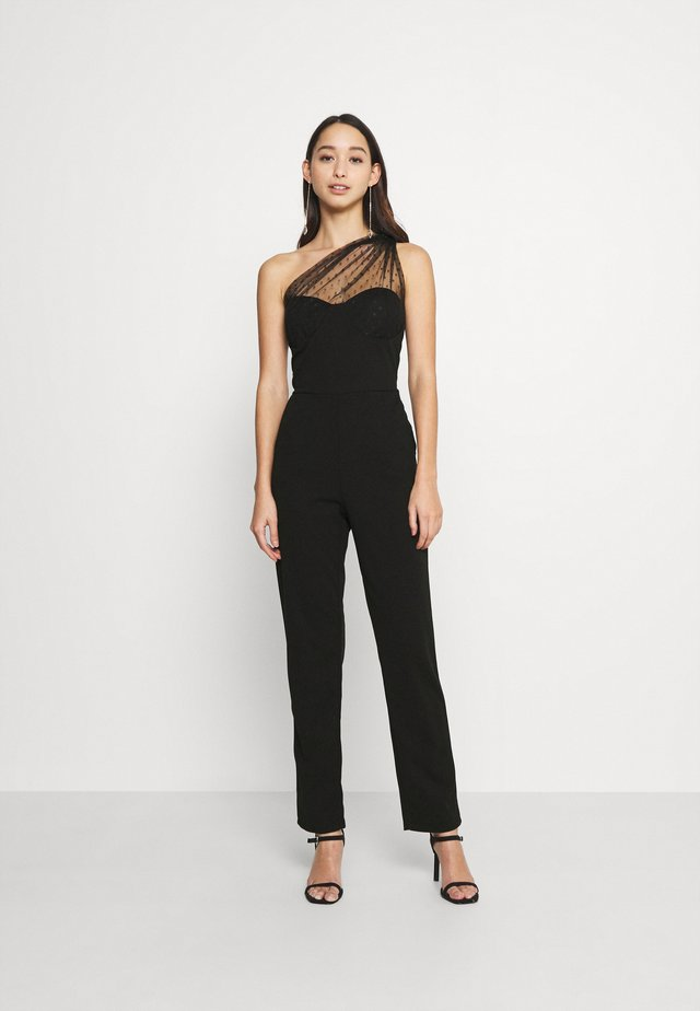 RAELYNN SHOULDER  - Tuta jumpsuit - black