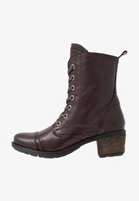 Be Natural - Lace-up ankle boots - bordeaux - 1