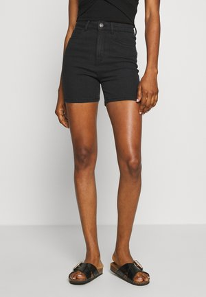 ONLMILA - Denim shorts - black