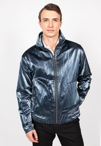 Freaky Nation - STEELBASE - Windbreaker - steel blue - 0