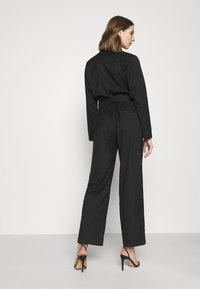 Monki - KATRINE SUITINS - Overall / Jumpsuit - black solid - 2
