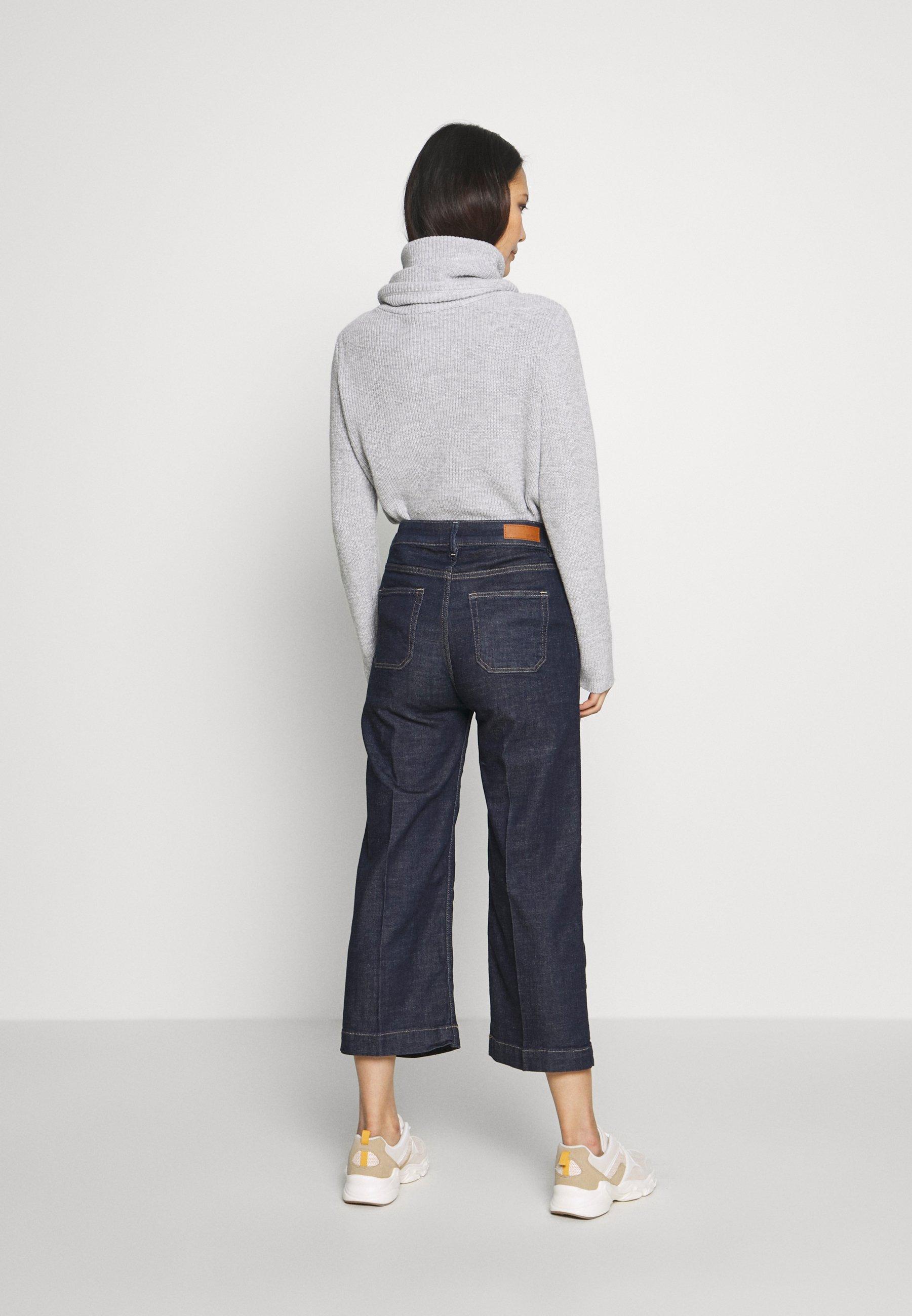Esprit Jean flare - blue rinse - Jeans Femme 5y0Nb