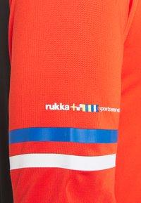 Rukka - ROLAX - Print T-shirt - classic red - 2