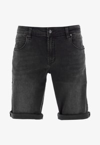 Reell - RAFTER - Denim shorts -  black denim - 4