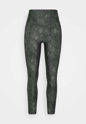CORE POWER LEGGING - Leggings - green