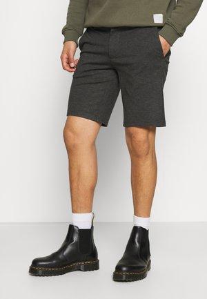 ONSMARK - Shorts - dark grey melange