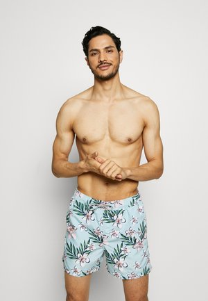ARUBA SWIM 2 PACK - Swimming shorts - black/cool blue
