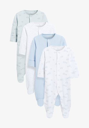 4 PACK - Sleep suit - blue