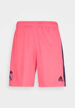 REAL MADRID AEROREADY FOOTBALL SHORTS - Pantaloncini sportivi - pink