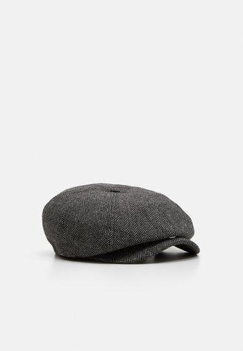BROOD SNAP UNISEX - Berretto - grey/black