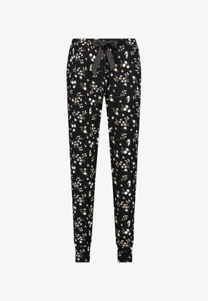 DITZY FLORAL - Pyjama bottoms - black
